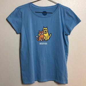 "Life Is Good ""Besties"" Girls T-shirt"